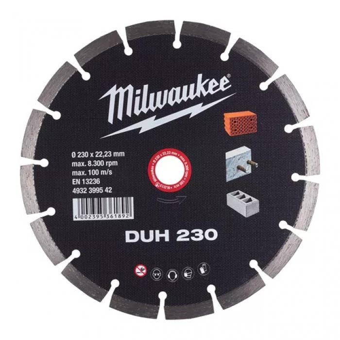 Алмазный диск Milwaukee CIS DUH 230 мм (1шт)