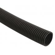 Труба гофрированная IEK ПНД d=25мм с зондом черная (50м)