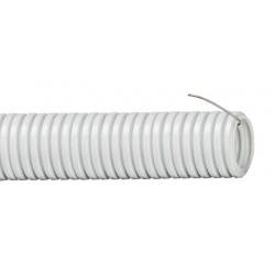 Труба гофрированная IEK ПВХ d=63мм с зондом (15м)