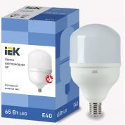 Лампа светодиодная IEK HP 65Вт 230В 6500К E40