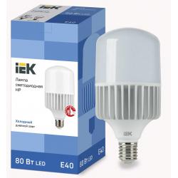 Лампа светодиодная IEK HP 80Вт 230В 6500К E40