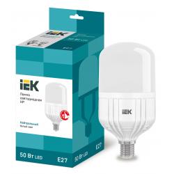 Лампа светодиодная IEK HP 50Вт 230В 4000К E27