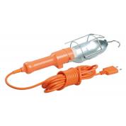 Светильник переносной ручной IEK УП-1Р плоская вилка (с выкл.) 2х0,75мм2 2Р 10м