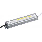 Драйвер LED IEK ИПСН-PRO (30Вт, 12В, блок-шнуры, IP67)