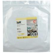Лента светодиодная IEK 20м (LSR-2835WW60-4,8, IP20, 12В)