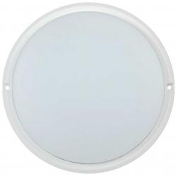 Светильник светодиодный IEK ДПО 4004 (18Вт, 4000K, IP54, круг, белый)