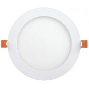 Светильник светодиодный IEK ДВО 1608 (круг, 18Вт, 6500K, IP20)