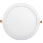 Светильник светодиодный IEK ДВО 1610 (круг, 24Вт, 6500K, IP20, белый)