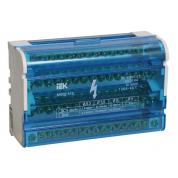 Шины на DIN-рейку IEK в корпусе (ШНК 4х15, 3L+PEN)