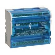Шины на DIN-рейку IEK в корпусе (ШНК 4х11, 3L+PEN)