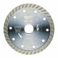 Алмазный диск Milwaukee DUT 125 мм (1шт)