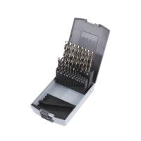 Набор сверл по металлу Milwaukee HSS-G Cobalt DIN338 Set (19шт)