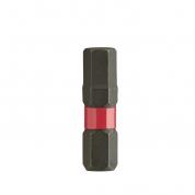 Биты для шуруповерта Shockwave Impact Duty Milwaukee Hex 2,5 мм X 25 мм (2шт)