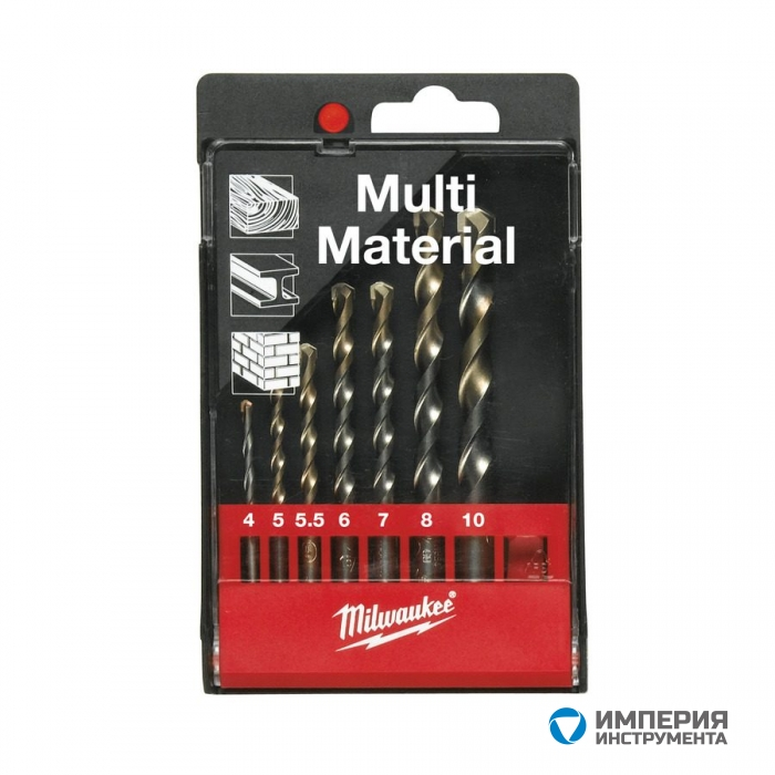 Набор сверл Milwaukee Multimaterial Set 2 (7шт)