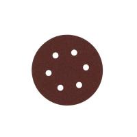 Шлифовальный круг Milwaukee 6 отверстий 150 мм/ зерно 120 (5шт)