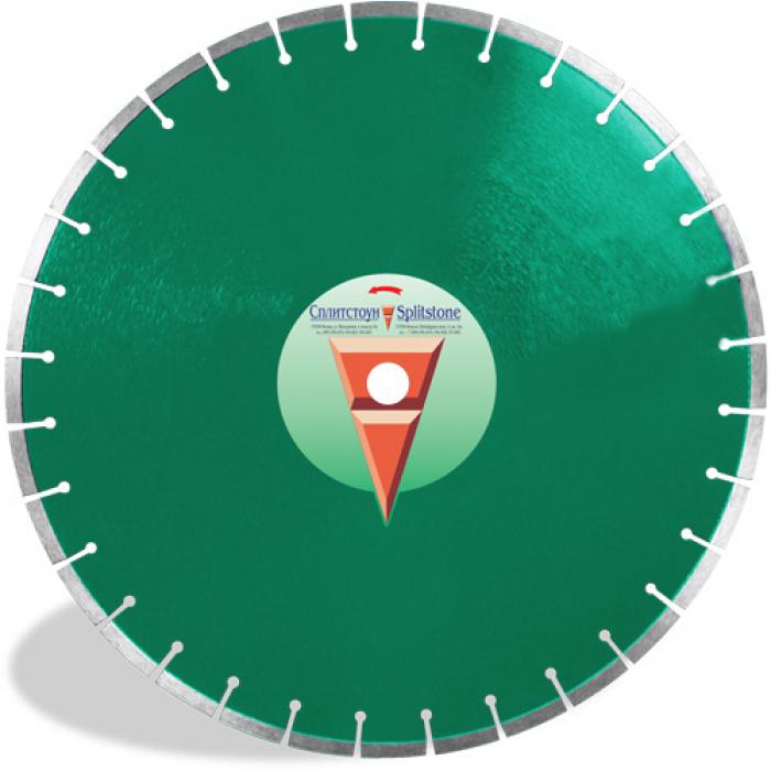 Отрезной алмазный круг Сплитстоун (1A1RSS 400x40x3x10x25,4+PHx24 асфальт 28) сухая Econom