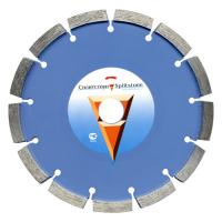 Отрезной алмазный круг Сплитстоун (1A1RSS 230x38x2,4x10x22,2x16 бетон 14) сухая Premium