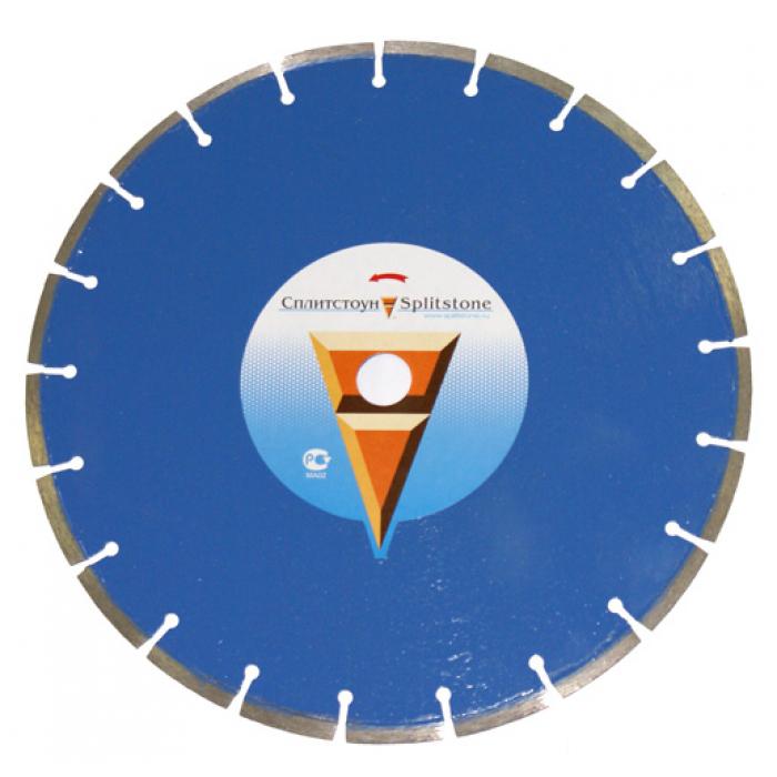 Отрезной алмазный круг Сплитстоун (1A1RSS 350x40x2,8x10x25,4x24 свежий бетон 30) сухая Premium