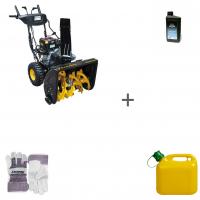 Снегоуборщик бензиновый Champion ST861BS + масло + канистра + перчатки в подарок!