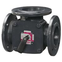 Клапан поворотный 3-ходовый фланцевый ESBE 3F25 (DN25,Kvs18,PN6,КО-ОХ)