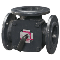 Клапан поворотный 3-ходовый фланцевый ESBE 3F32 (DN32,Kvs28,PN6,КО-ОХ)