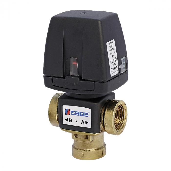 """Клапан отводной ESBE VZC161 (DN20,220В,Kvs6.5,PN6,ВР 3/4"""",СО-ТН)"""