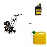 Культиватор бензиновый Champion ВC5602BS + канистра + масло в подарок!