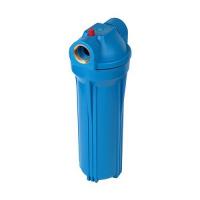 Фильтр магистральный Акватек для холодной воды, без картриджа (синий корпус 10) 1