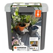 Комплект для полива в выходные дни с контейнером Gardena