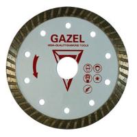 Отрезной алмазный круг Сплитстоун (GAZEL Turbo 230x2,6x8x22,2 строит. материалы 2) сухая Master