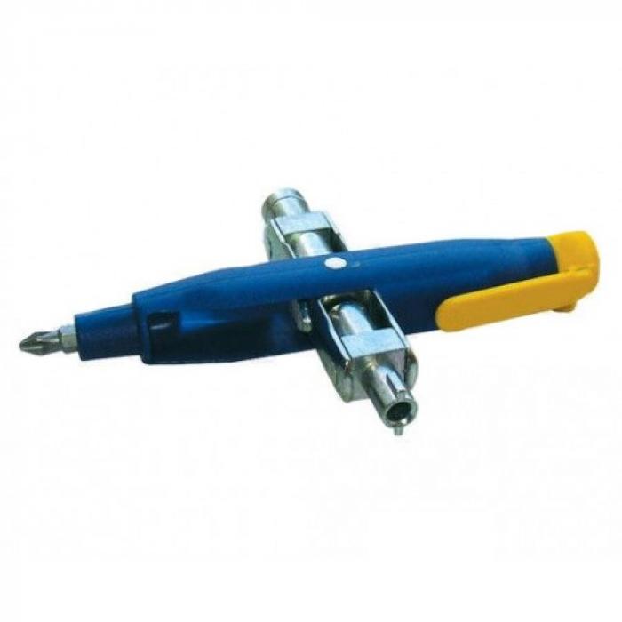 Ключ для электрошкафов крестовой универсальный KLAUKE KL500