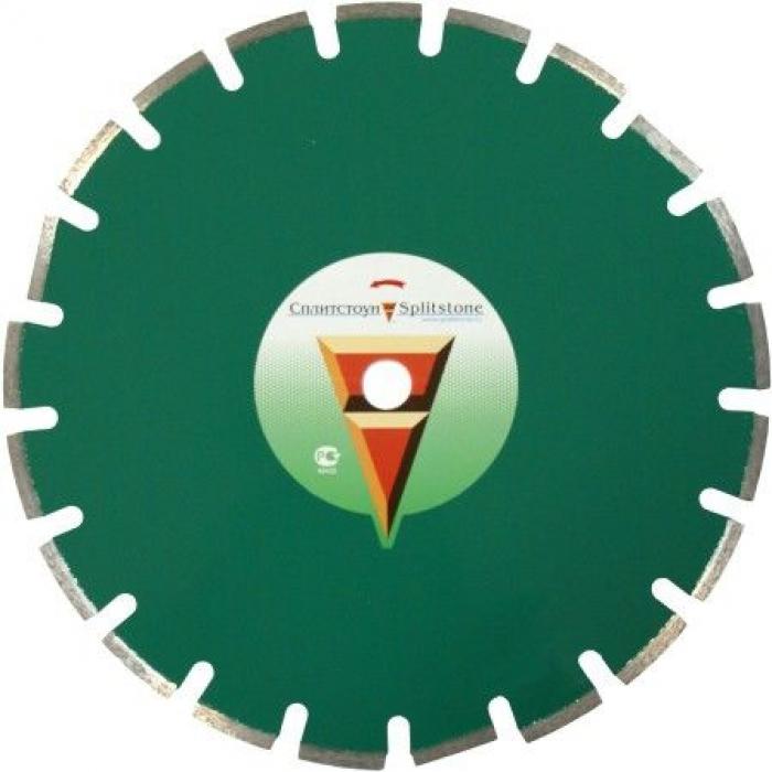 Отрезной алмазный круг Сплитстоун (1A1RSS 350x40x3x10x25,4x23 гранит 22) сухая Premium