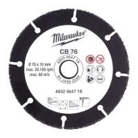 Диск для циркулярных пил по дереву Milwaukee CB 76 x 10 мм ДЛЯ M12 FCOT