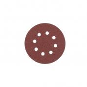 Шлифовальный круг Milwaukee 8 отверстий 125 мм/ зерно 180 (25шт)