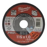 Отрезной диск по металлу Milwaukee SCS  41 / 115 x 1.5 x 22.2 мм (1шт)
