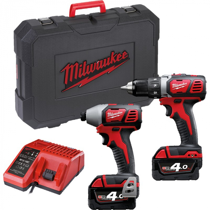 Набор инструментов Milwaukee M18 BPP2I-402C Set Power Pack IN2