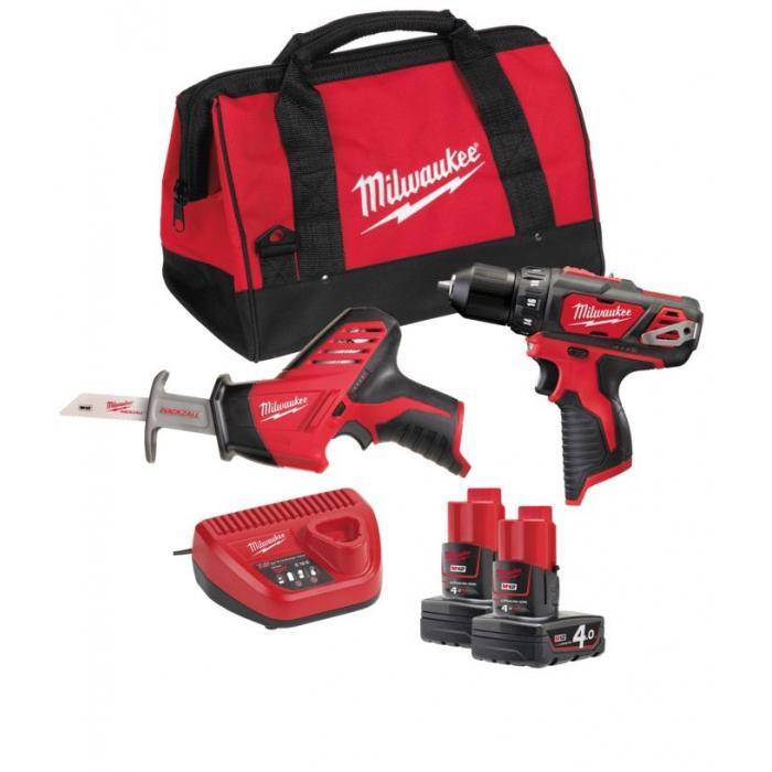 Набор инструментов Milwaukee М12 ВPP2В-402В