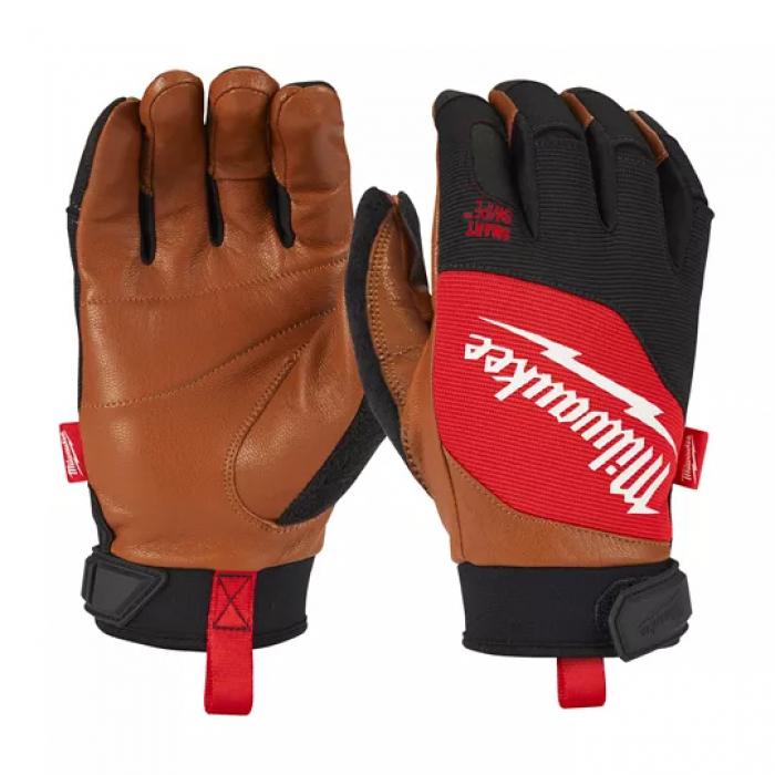 Перчатки с кожаными вставками Milwaukee L/9