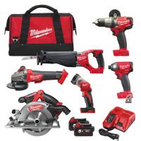Набор инструментов Milwaukee M18 FUEL FPP6A-502B