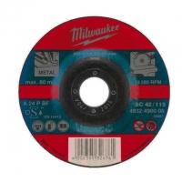 Отрезной диск по металлу Milwaukee SC 42 / 125 x 3 x 22.2 мм (1шт)
