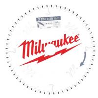 Пильный диск для циркулярной пилы по алюминиюMilwaukee 235 x 30 x 2.4 мм (1шт)