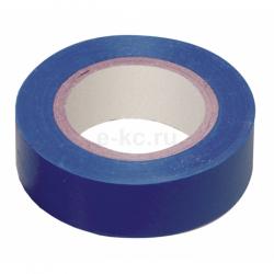 Изолента ПВХ 0.13 x15 мм 20 м синяя