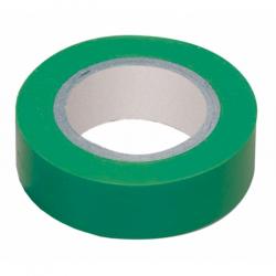 Изолента ПВХ 19мм, 20м, зеленая