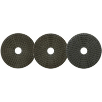 Алмазный полировальный круг Сплитстоун (6A2S 125x40x2,5 №12 #BUFF гранит) Professional