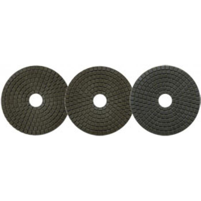 Алмазный полировальный круг Сплитстоун (6A2S 100x40x2,4 №2 (160/125) #100 гранит) Professional