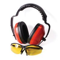 Наушники противошумные + очки Unisaw Professional Quality SPRO-19667