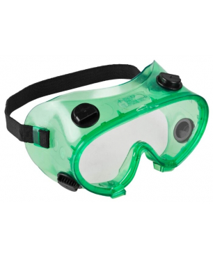 Защитные очки закрытого типа с непрямой вентиляцией (поликарбонатная линза) Зубр МАСТЕР 11026