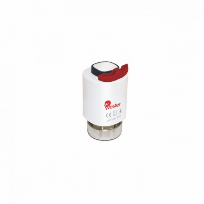 Привод термоэлектрический нормально-закрытый Wester T30NC230VM30x1,5