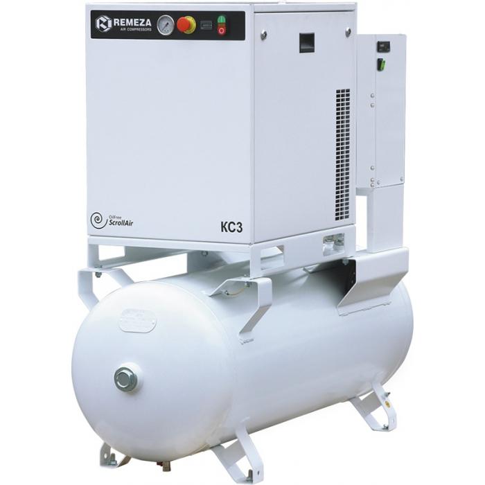 Безмасляный спиральный компрессор Remeza КС7-8(10)-270
