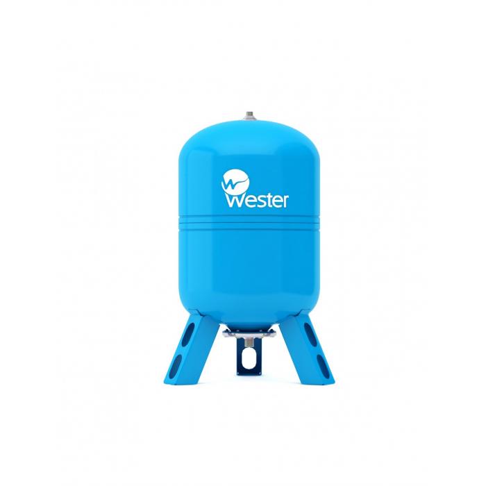 Бак мембранный для водоснабжения Wester Premium WAV150 c нержавеющим контрфланцем